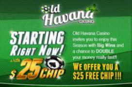 Old havana casino deposit bonus codes