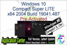 Windows 10 LITE x64 Version 2004 Build 19041.487 -