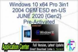 Windows 10 X64 Enterprise 2004 OFF19 en-US JUNE 2020 {Gen2}