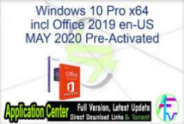 Windows 10 Pro x64 2004 incl Office 2019 - ACTiVATED June 2020